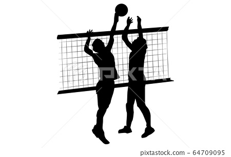 Sport silhouette volleyball 16 64709095