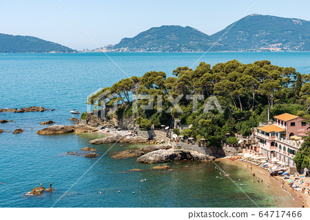 Fiascherino Beach - Gulf of La Spezia Liguria Italy 64717466