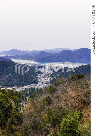 Kinosaki Onsen Ropeway Overlooking the hot spring town from the summit station 64720340