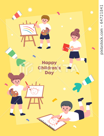 Children's illustration 02 64721841