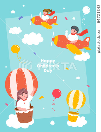 Children's illustration 03 64721842