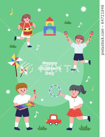 兒童插畫07 64721846