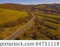 Aerial Drone Foto View Carpathian 64731118