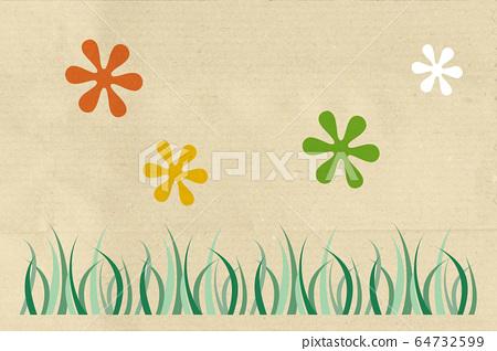 Floral background 64732599