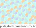 Colorful pastel circle fractal digital illustration 64756532