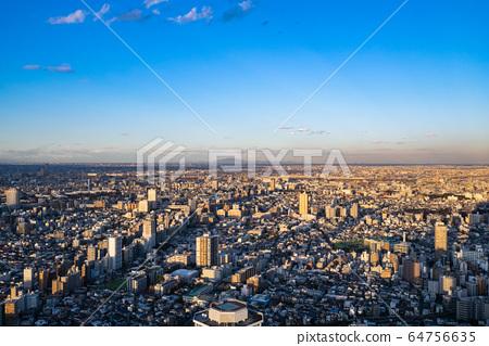 도쿄 도시 풍경 이케부쿠로에서의 전망 64756635