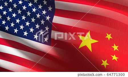 United States of America or USA vs China national 64771300