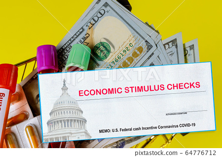 Americans receive emergency payments stimulus 64776712