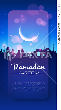 ramadan kareem holy month religion nabawi mosque building architecture night muslim cityscape 64783945
