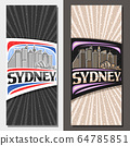 Vector layouts for Sydney 64785851