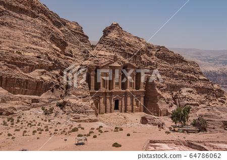 約旦古城佩特拉遺址 64786062
