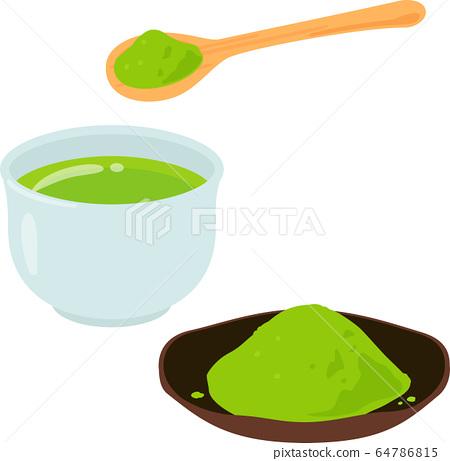 粉狀綠茶 64786815