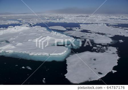 북극해의 얼음 64787176
