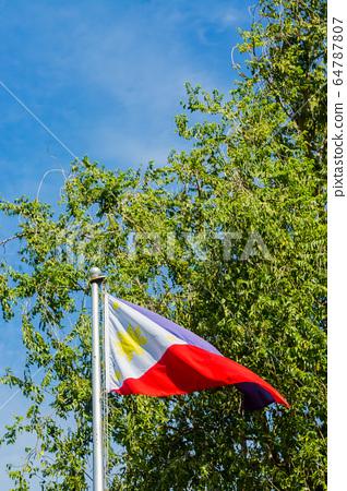 Philippine flag 64787807