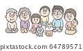 가족 단란 _ 집합 _Family, together_CMP002 64789571