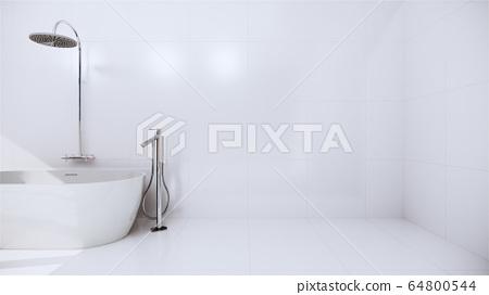 Zen design toilet tiles wall and floor - japanese 64800544
