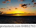 마우이,일몰,하와이,저녁놀 64802763