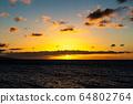 마우이,일몰,하와이,저녁놀 64802764