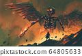 awaken of the skeleton angle 64805633