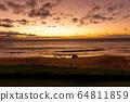 하와이주,마우이, 황혼,일몰 64811859