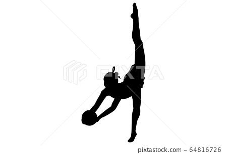 運動剪影藝術體操6 64816726