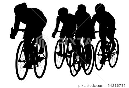 스포츠 실루엣 자전거 5 64816755