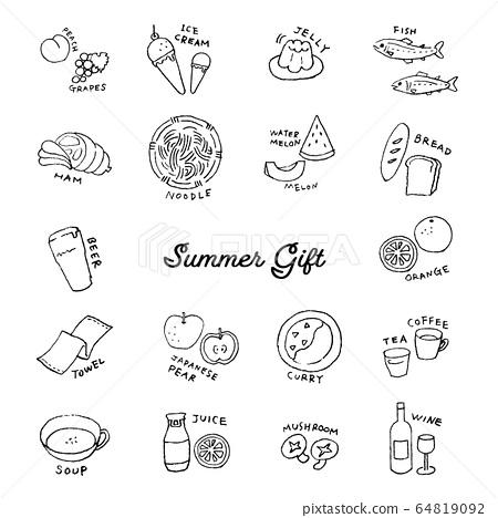 여름 선물 선화 세트 64819092