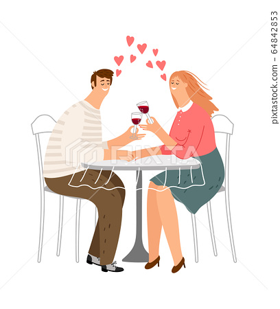 Dating in cafe 64842853