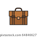 work suitcase icon 64846627