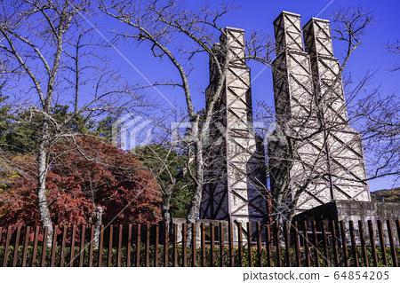 (靜岡縣)世界遺產Nirayama反射爐秋天 64854205