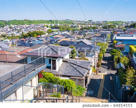 주택가 · 교외의 주택지 이미지 64854555
