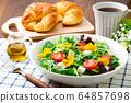 沙拉麵包早餐 64857698