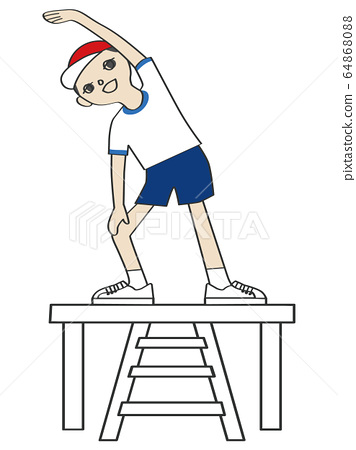 Athletic meet / preparatory movement 64868088