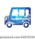 蓝色图标系列 64876594