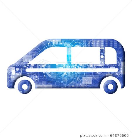 藍色圖標系列 64876606