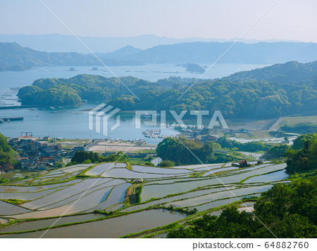Hizen Town Oura Rice Terraces 64882760