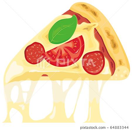 Cut pizza 64883344
