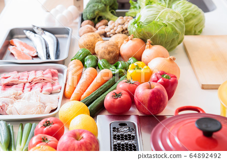 주방 부엌 재료 요리 요리 64892492