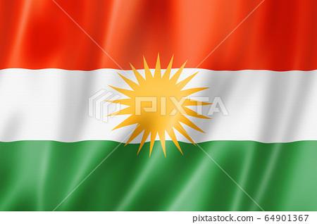 Kurd ethnic flag, Asia 64901367