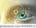 人工智能概念的眼睛 64906913