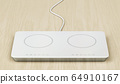 White induction cooktop 64910167