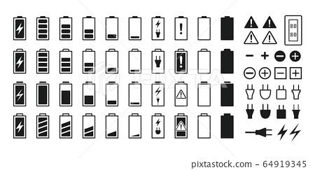 電池圖標 64919345