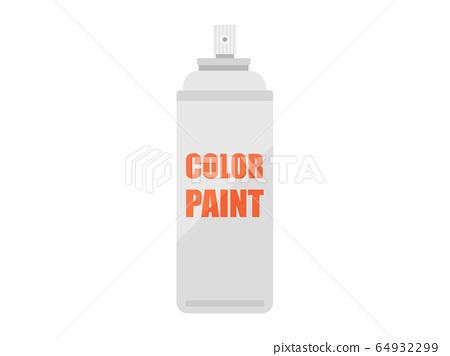 페인트 스프레이 캔의 일러스트 64932299
