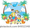 Summer_Okinawa Travel_Family_Color简单 64932348