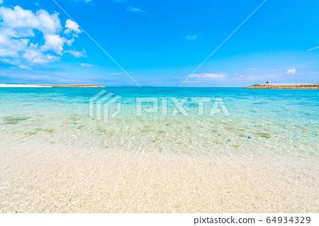 【오키나와】 해변 이미지 64934329