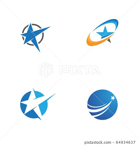 Star icon Template 64934637