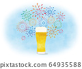 Fireworks and beer 64935588