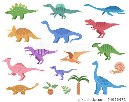 恐龍圖圖標集 64936478