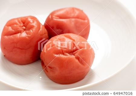 Salted plum. 64947016