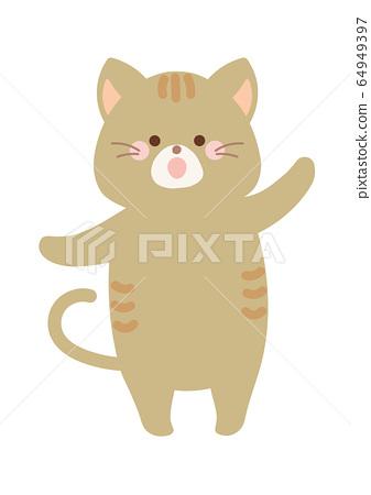跳舞的貓 64949397